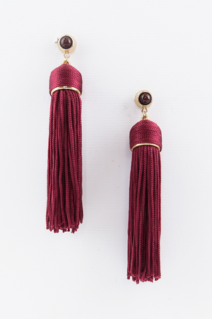 I Don't Know Why Tassel Earrings - Haute & Rebellious