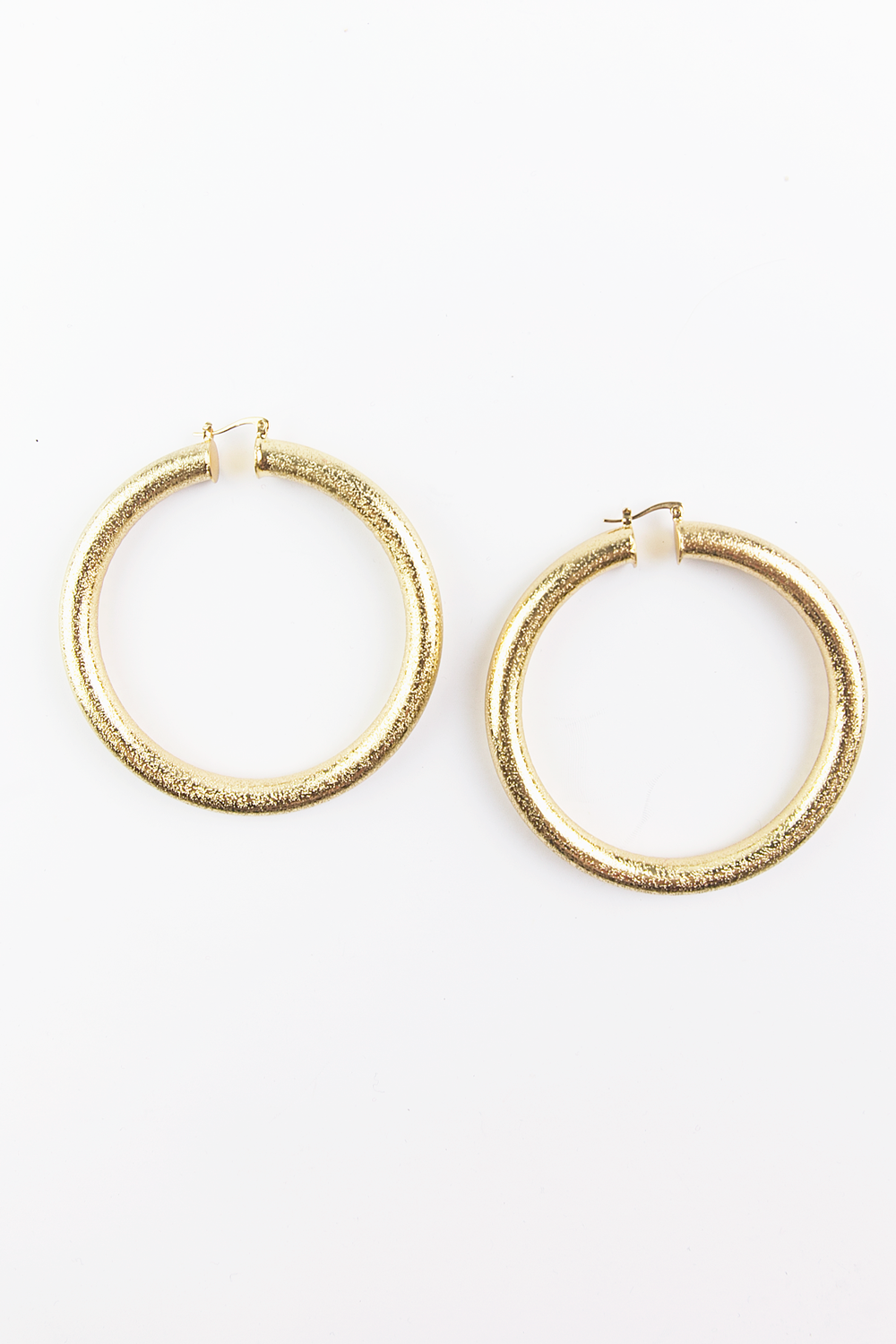 Ready For Your Love Large Hoop Earrings - Haute & Rebellious