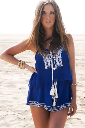Santorini Embrodiery Top - Haute & Rebellious