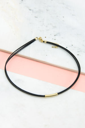 Straight To The Point Choker - Haute & Rebellious
