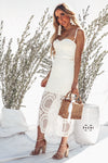 Body-Con Crochet Midi Dress