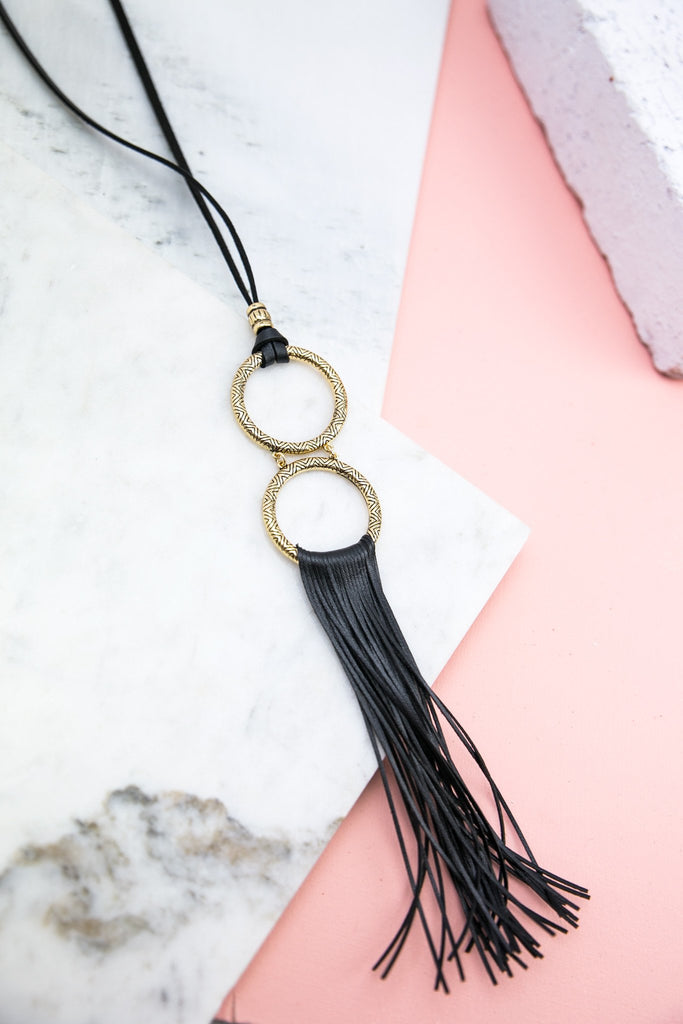 Fringe Crazy Necklace