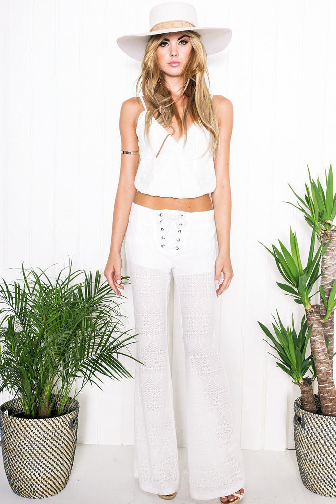 Lyla Crochet Crop Top