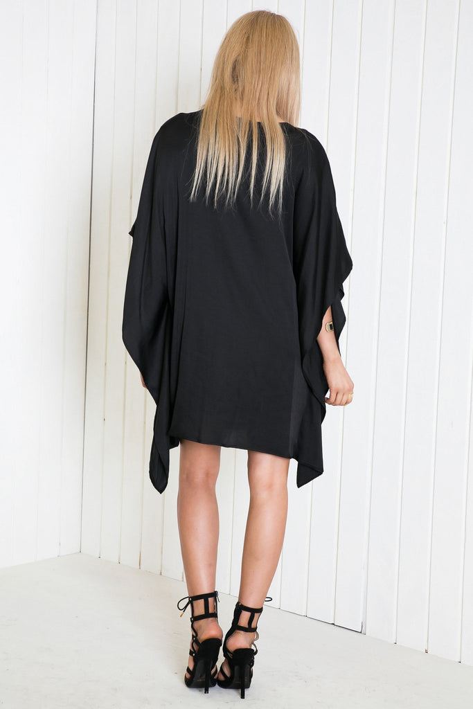 Mainard Poncho Dress