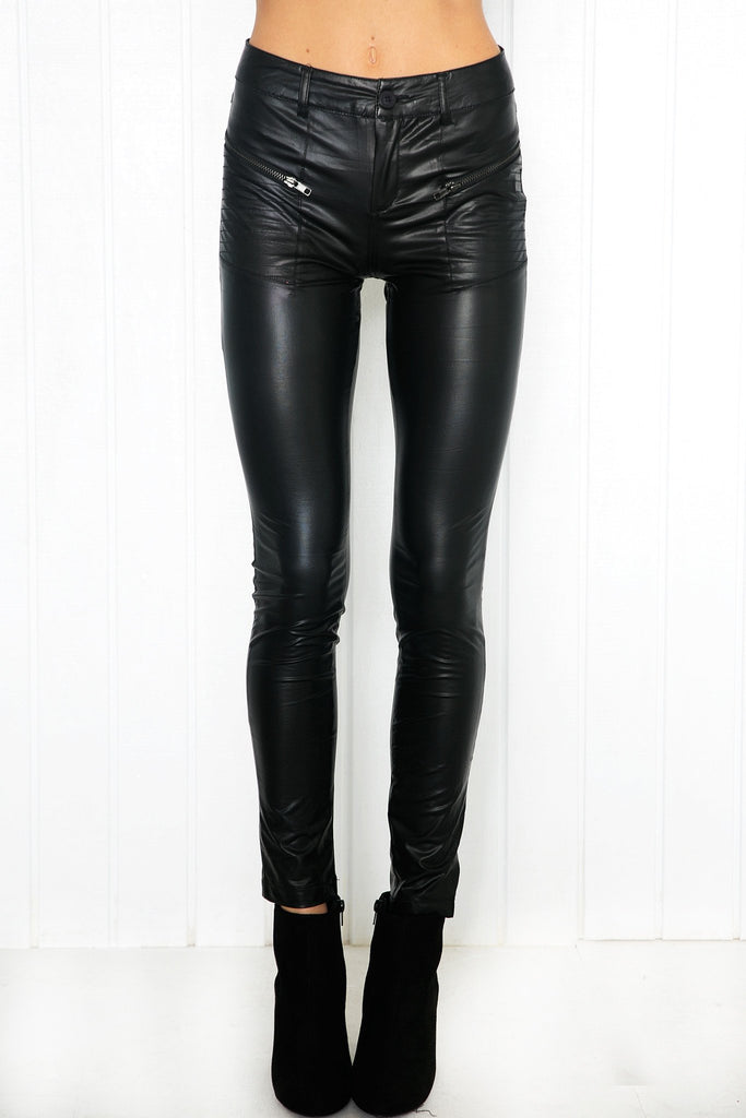 Emilee Leather Pants