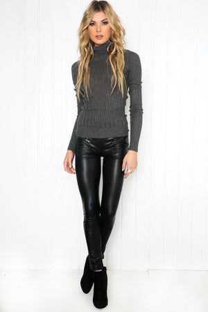 Emilee Leather Pants - Haute & Rebellious