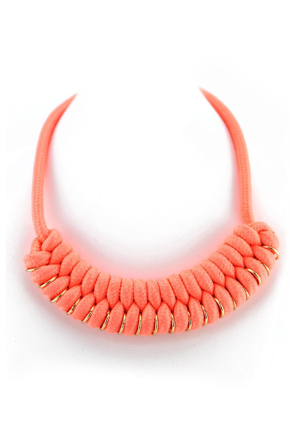 TIGHT ROPE NECKLACE - Peach - Haute & Rebellious