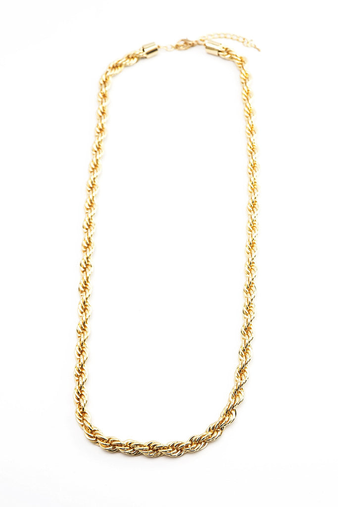 Lyla Long Rope Necklace