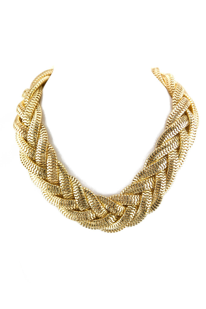 LARGE ROPE CHAIN LINK NECKLACE