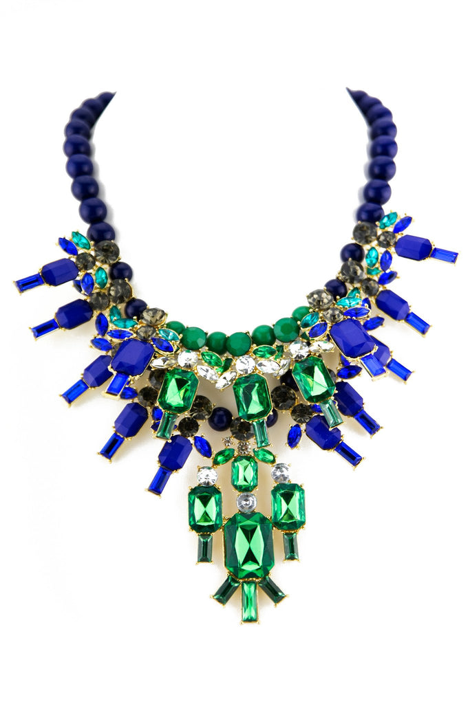 HELNA COLORED STONES NECKLACE