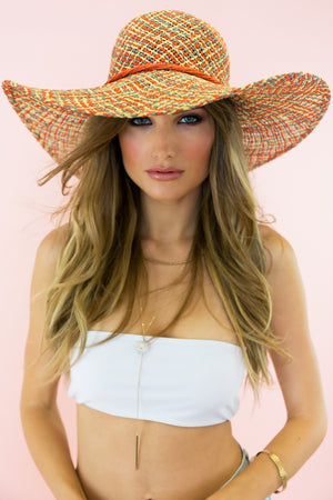 Sunset Park Straw Hat - Dark - Haute & Rebellious