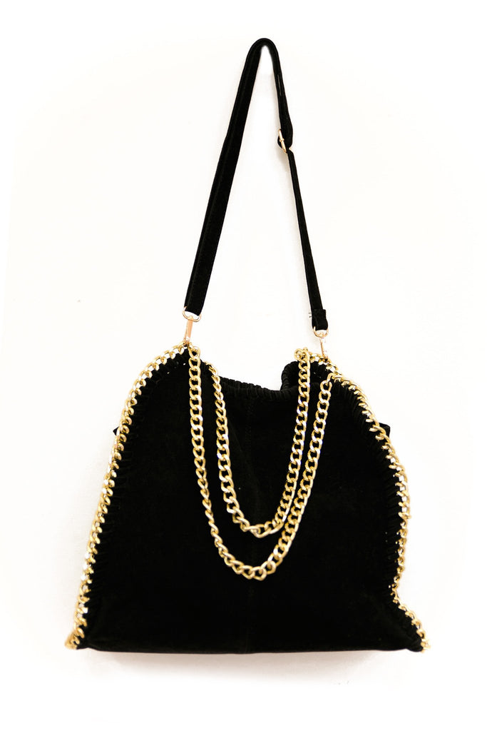 BELLA LARGE CHAIN TOTE