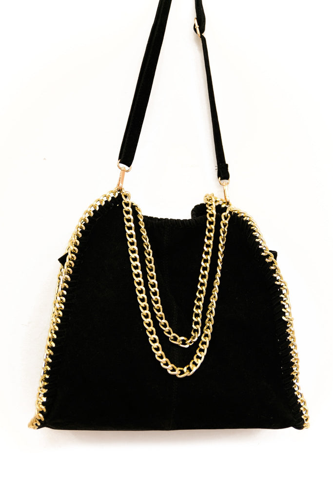 BELLA LARGE CHAIN TOTE - Haute & Rebellious