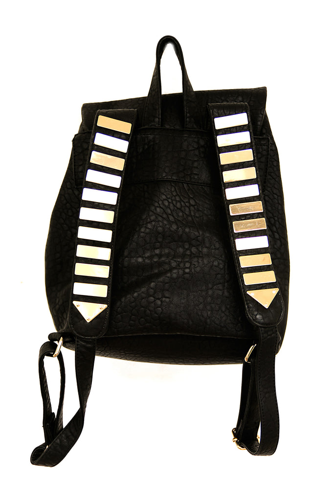 RIFT GOLD PLATED STRAP BACKPACK