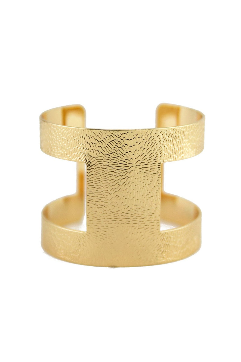 CLEO PLATED CUFF BRACELET - Haute & Rebellious