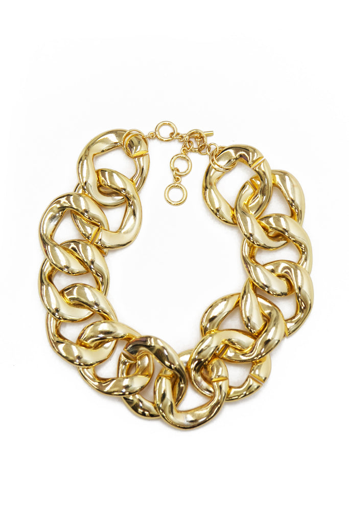 OVERSIZE CHAIN LINK NECKLACE