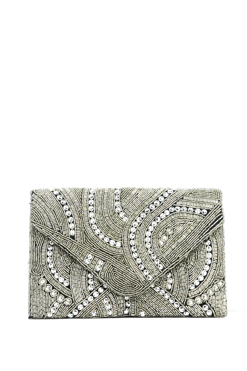 Tayla Embellished Clutch - Haute & Rebellious
