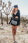 Houndstooth Crossbody Bag