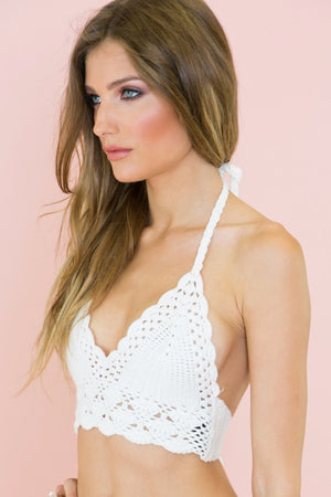 Lenai Crochet Bralette Top - Haute & Rebellious