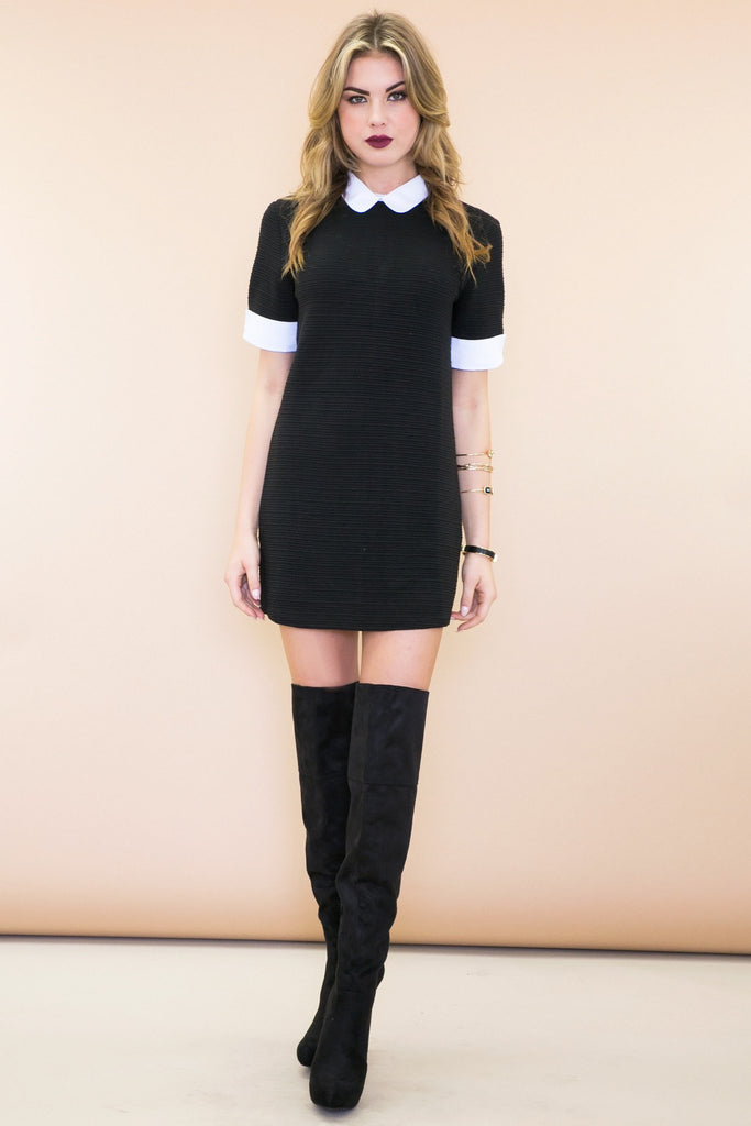 Emma Collared Sweater Dress