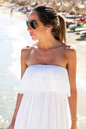 PIPA PEPLUM SUN MAXI DRESS - Haute & Rebellious