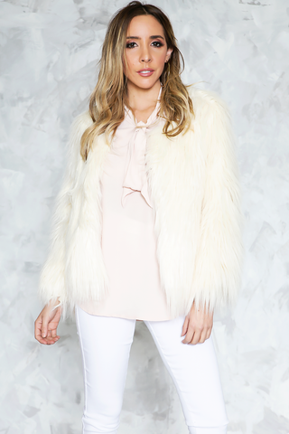 Annice Fur Leather Jacket