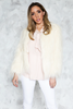 Long Hair Faux Fur Jacket