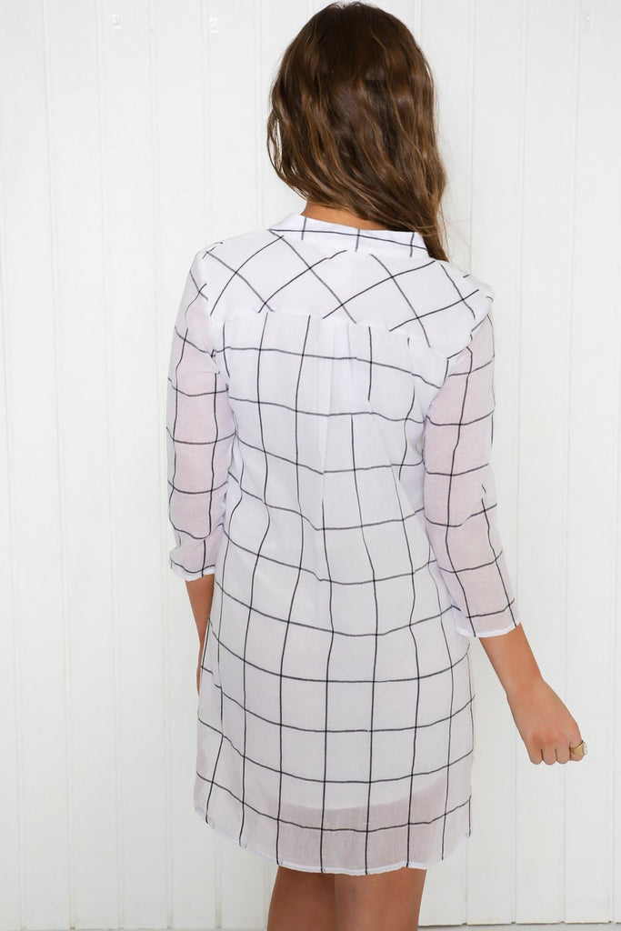 Between the Lines Shirt-Dress