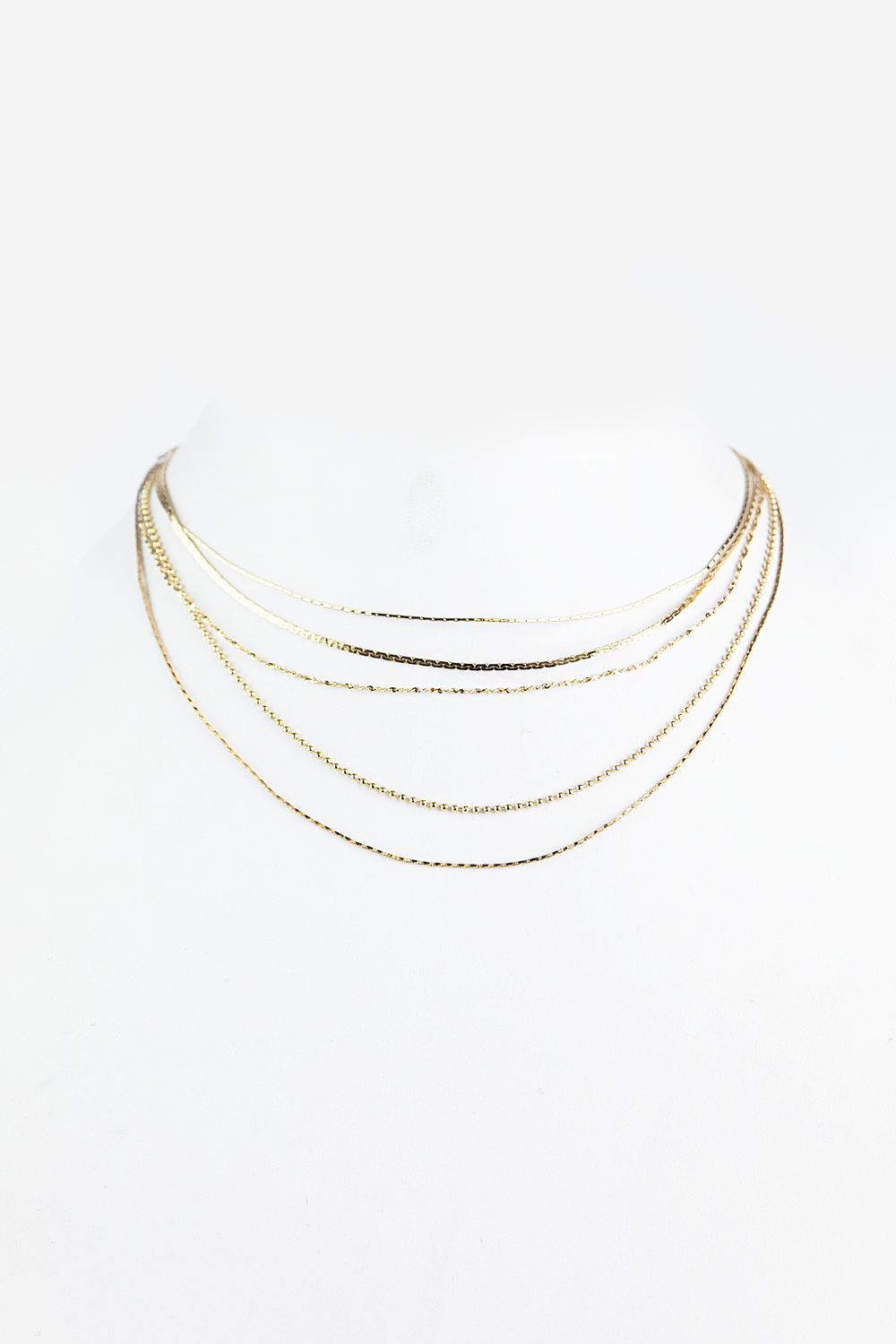 All of Me Petite Layered Choker - Haute & Rebellious