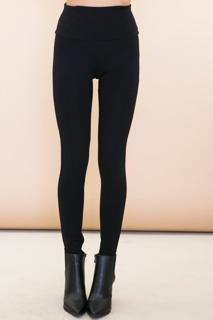 Jett High Waisted Dress Legging - Haute & Rebellious