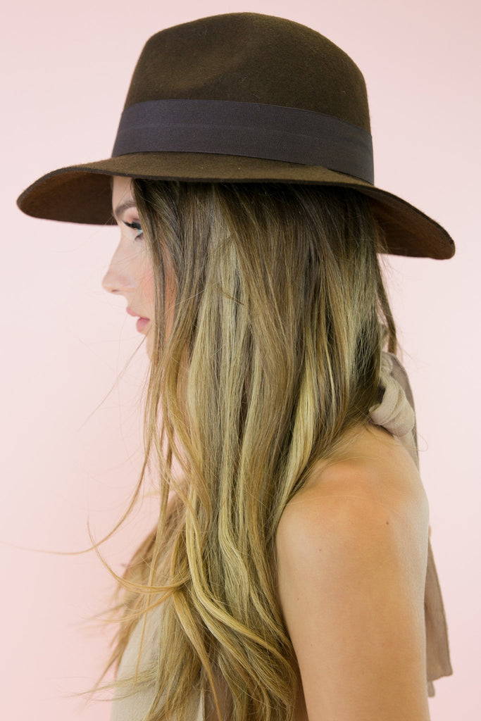 Mountains and Sunsets Boho Hat