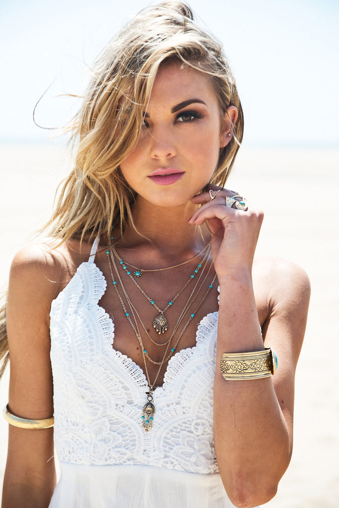 Giana Boho Layering Necklace - Haute & Rebellious