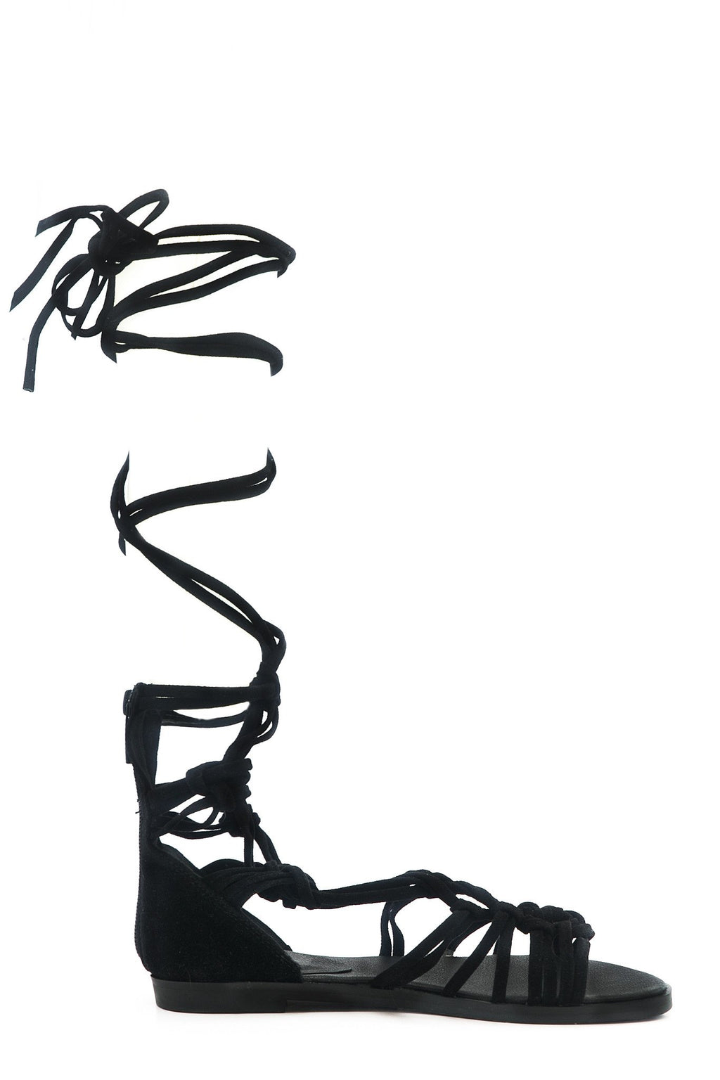 Lesly Lace-Up Gladiator Sandal - Haute & Rebellious