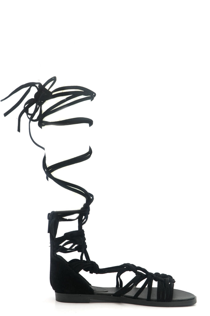Lesly Lace-Up Gladiator Sandal