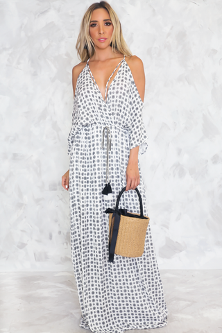 Field of Dreams Button-Up Midi Dress