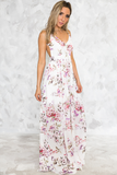 This Life Floral Open-Back Maxi - Haute & Rebellious