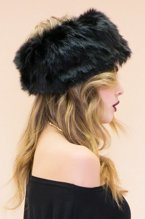 Rolland Fur Headpiece