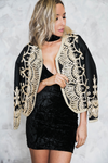 Flamenco Sequin Embroidery Jacket - Haute & Rebellious