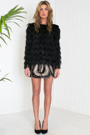 Lacie Tulip Sequin Skirt - Haute & Rebellious