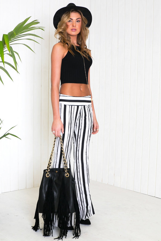 Echo Park Striped Flair Pant