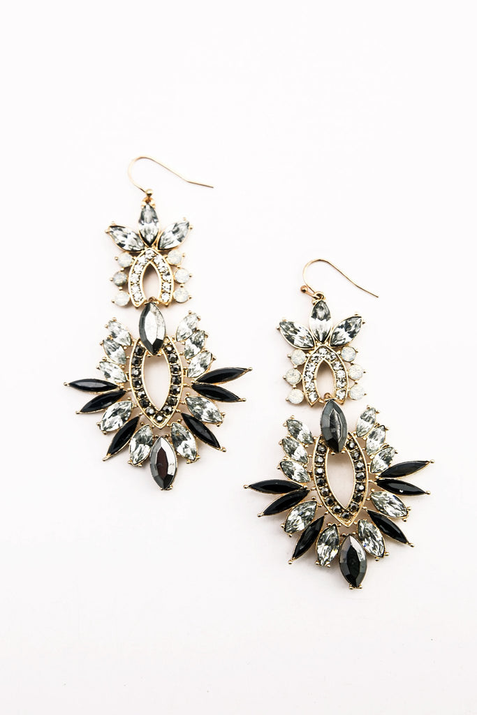 Kyra Rhinestone Earrings