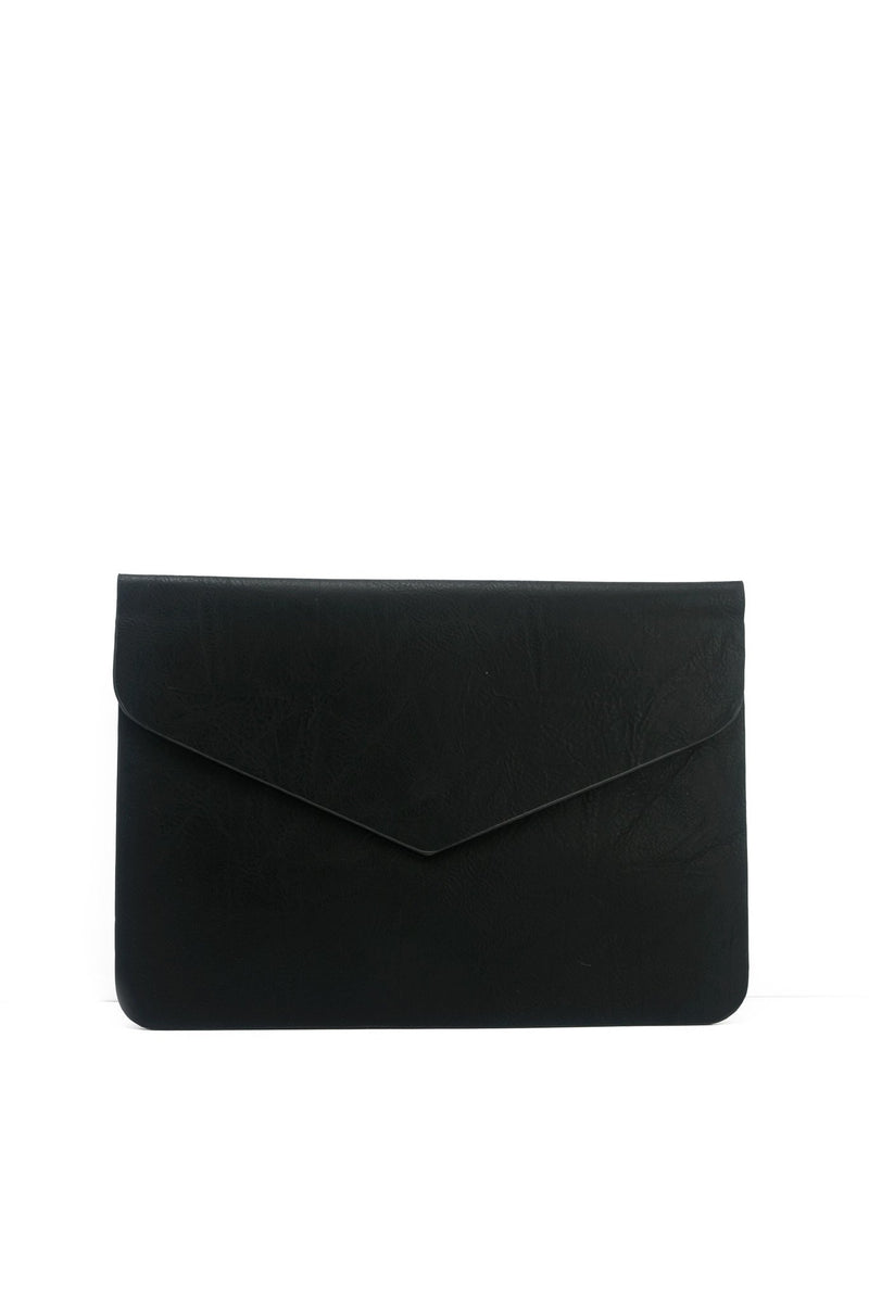 Ashe Envelope Clutch - Black - Haute & Rebellious