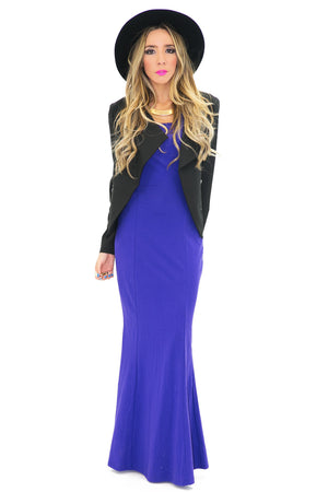 VALERI CUTOUT MAXI DRESS - Haute & Rebellious