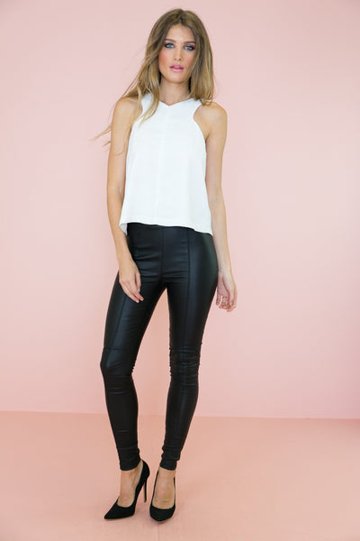 Alaji Leather Leggings