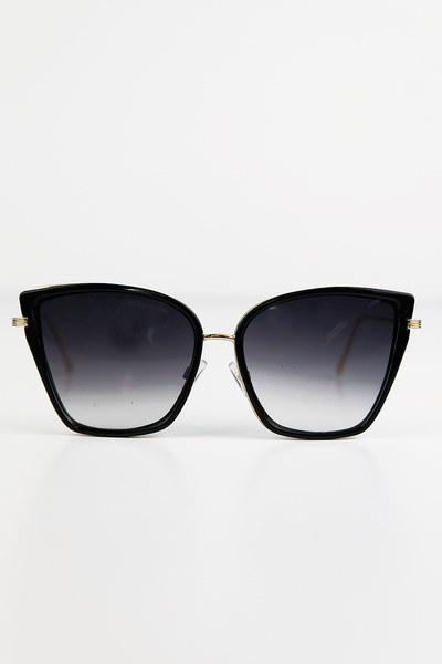 Undercover Doll Sunglasses - Black - Haute & Rebellious