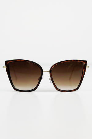Undercover Doll Sunglasses - Tortoise Shell - Haute & Rebellious