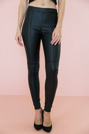 Alaji Leather Leggings - Haute & Rebellious