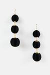 Can't Hide Statement Earring - Black - Haute & Rebellious
