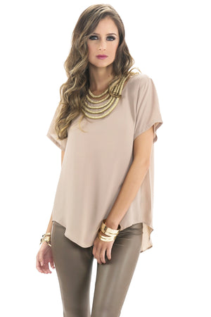 OLSEN SOFT DRAPE BLOUSE - Haute & Rebellious
