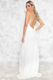 Romantic Mood Open-Back Gown